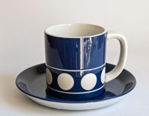 T G Green - Jersey Blue Tea Cup - Judith Onions