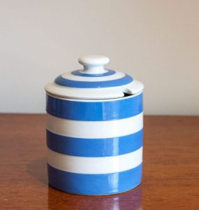Cornishware Jam Jar T G Green