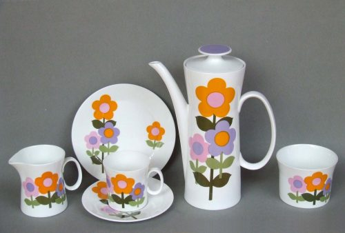 John Russell  Dolly Days  Hostess Tableware Staffordshire & Hostess Tableware Designs John Russell | C20Ceramics