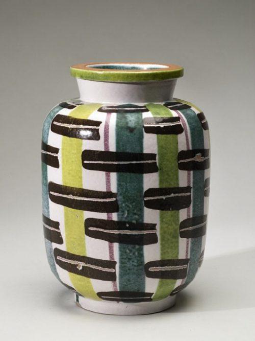 Gustavsberg Jar, decor Ursula Printz