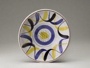 Gustavsberg Bowl, decor Ursula Printz