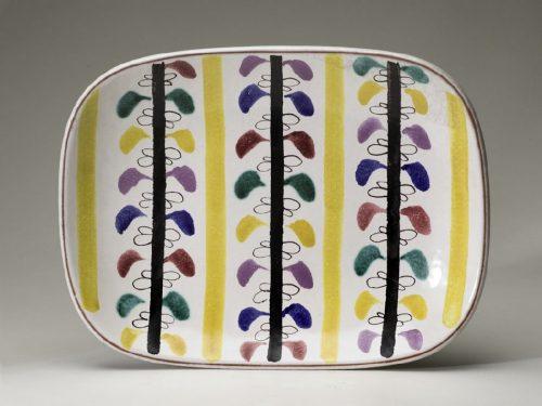Gustavsberg Plate, decor Ursula Printz