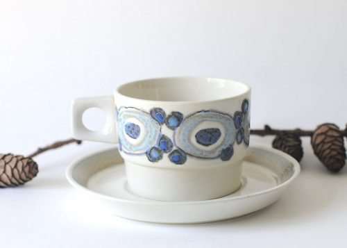 Royal Copenhagen, Nucella Blue , Ellen Malmer Photo -FridasVintageEtsy