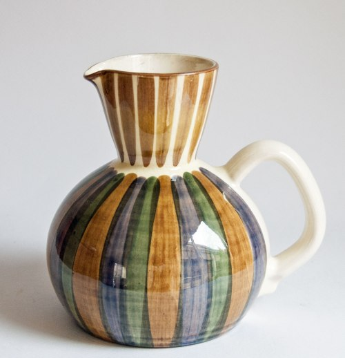 Bangholm Denmark, Striped Ewer Form