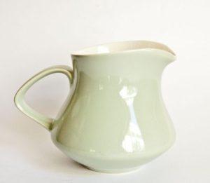 Poole Cameo Celadon Milk Jug