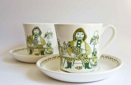 """Figgjo """"Market"""" Design Cups"""