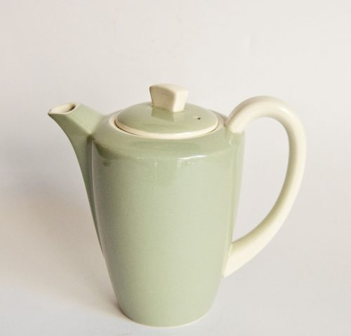 Poole Cameo Celadon Hot Water Jug