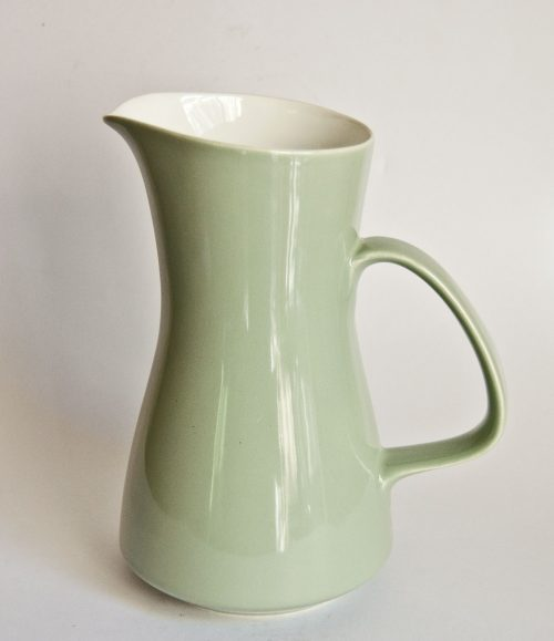 Poole Cameo Celadon later jug