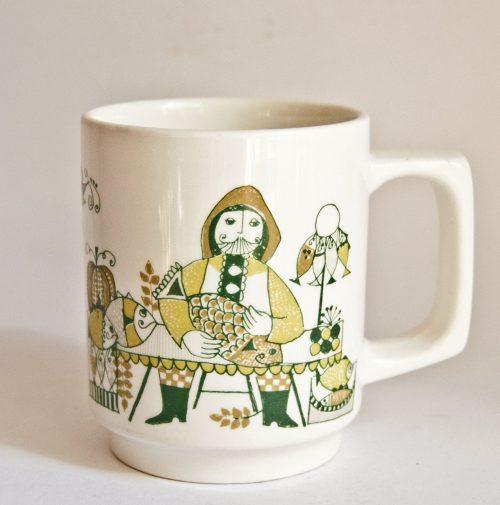 """Figgjo """"Market"""" Design Mug Shape"""