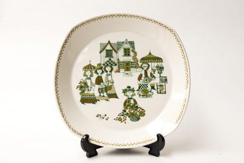 "Figgjo ""Market"" Design Large Platter"