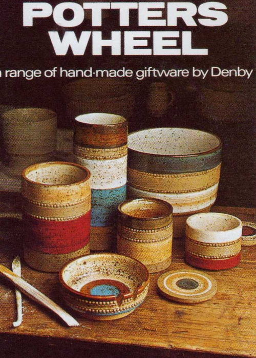 Denby Potter's Wheel Poster
