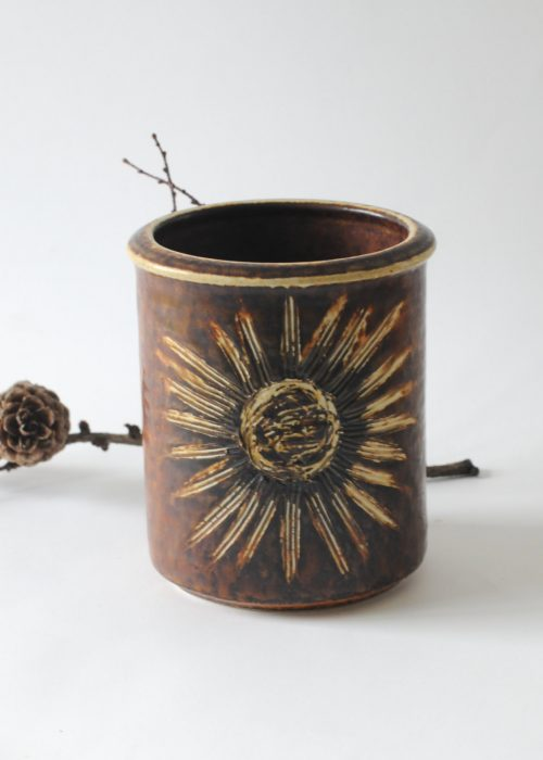 Soholm Sunflower Vase - Einar Johansen. Photo fridasvintage etsy