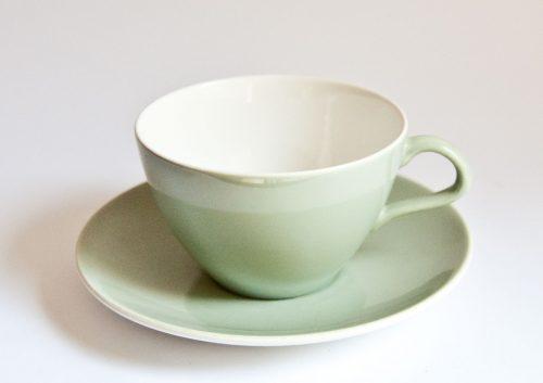 Poole Cameo Celadon Wide Cup