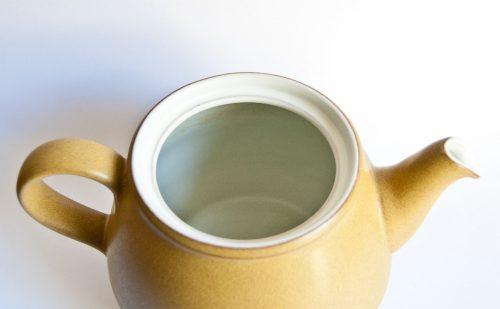Denby Ode Teapot (inside view)
