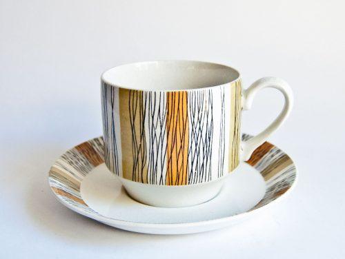 Midwinter Sienna Cup & Saucer
