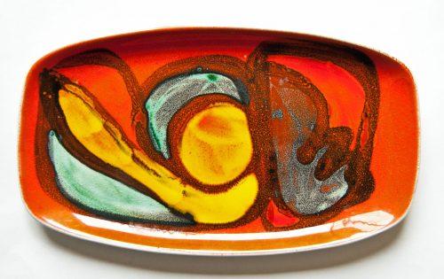 Poole Delphis Dish - Shape 316
