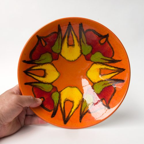 Poole Delphis Bowl, Form 57