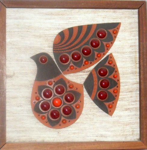 Muramic Bird Plaque