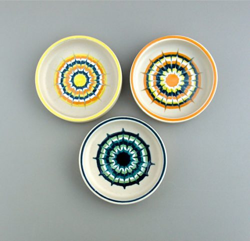 A Set of 3 Muramic dishes