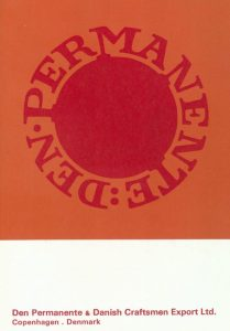 Den Permanente 1967 Catalogue Cover