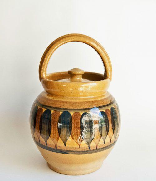 "Lillerod Pottery Denmark, ""Maternity"" Jar"