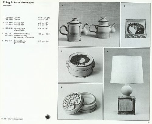 Den Permanente Catalogue 1972 - Heerwagen