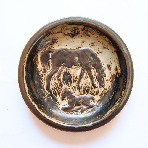 Knud Kyhn, Mare & Foal Bowl, Royal Copenhagen