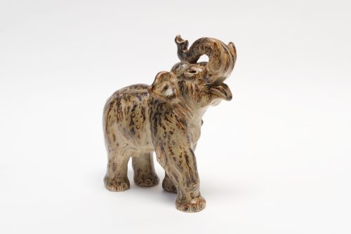 Knud Kyhn, Royal Copenhagen, Elephant Figurine