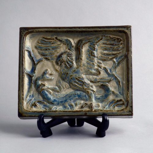 Knud Kyhn, Wall Tile/Plaque, Royal Copenhagen