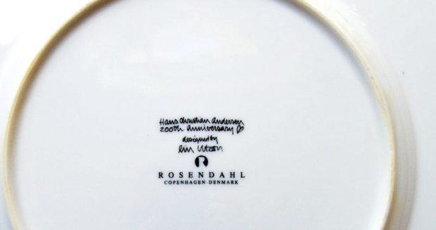 Lin Utzon, Rosendahl, Hans Christian Andersen Dinner Service