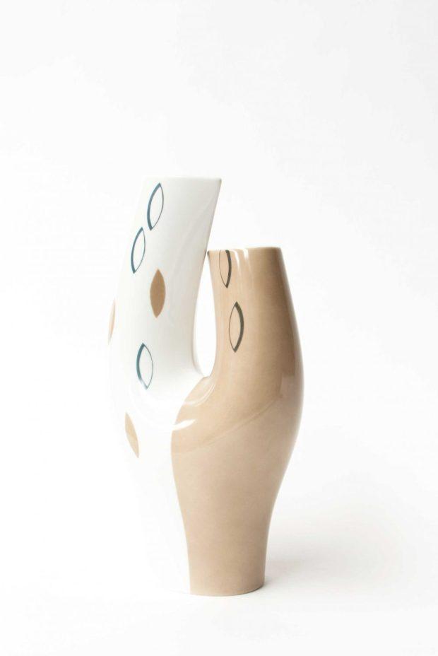 Modernist Noritake Vase c1950s