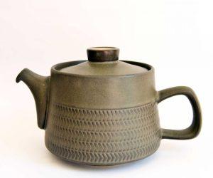 Denby Chevron Teapot