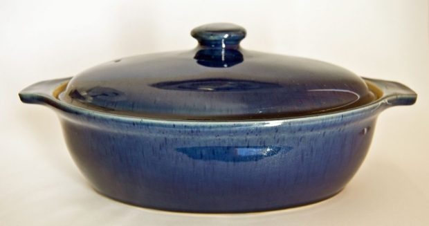 Denby Cottage Blue Casserole