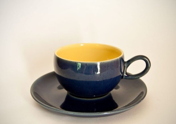 Denby Cottage Blue Tea Cup