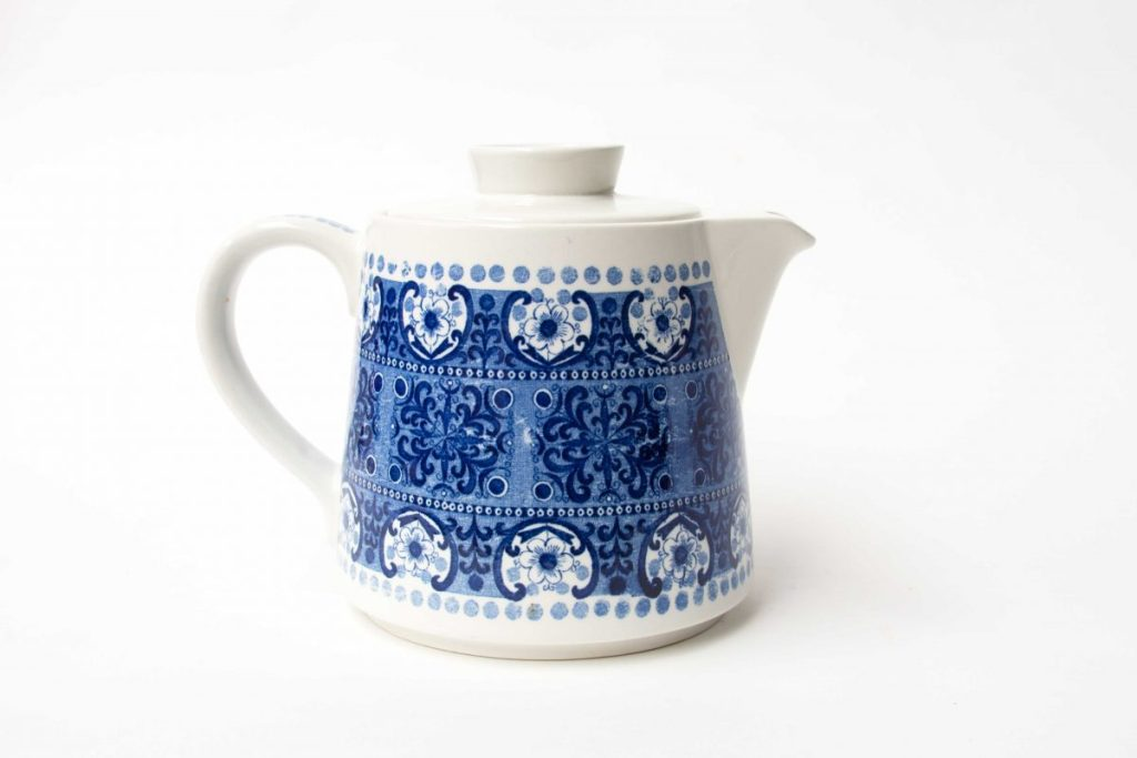 Arabia Finland, Ali Blue Teapot