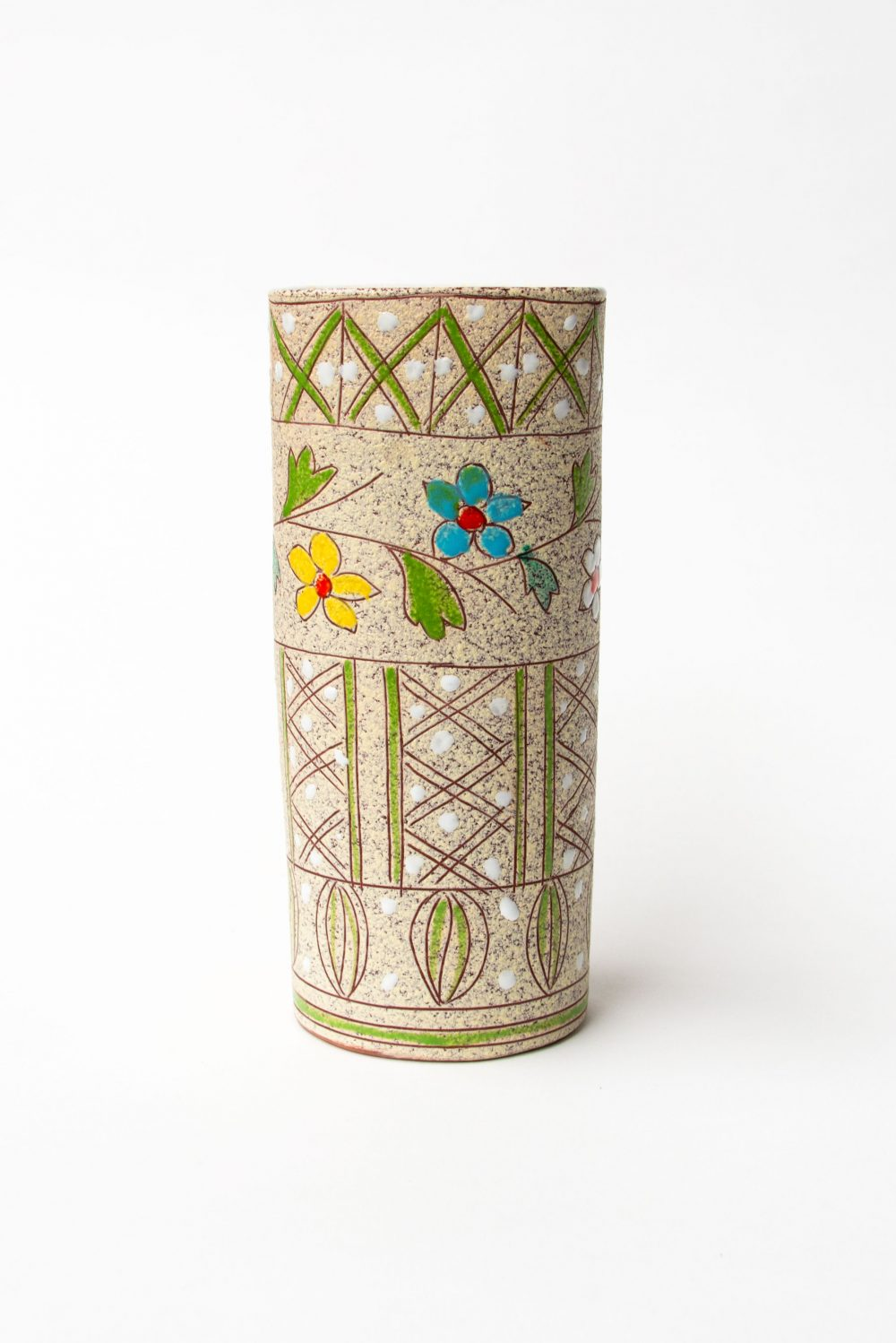 Fratelli Fanciullacci Tapering Vase, Italy 1950s