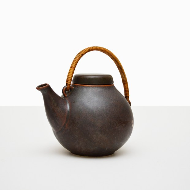 Arabia Finland GA3 Teapot, Brown,