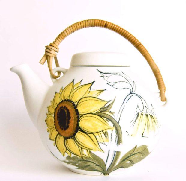 Arabia Finland GA3 Teapot, Hilkka Liisa Ahola Pattern