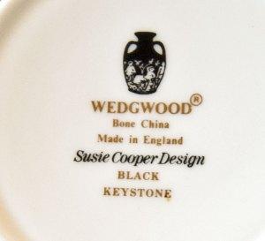 Wedgwood Susie Cooper Keystone Black