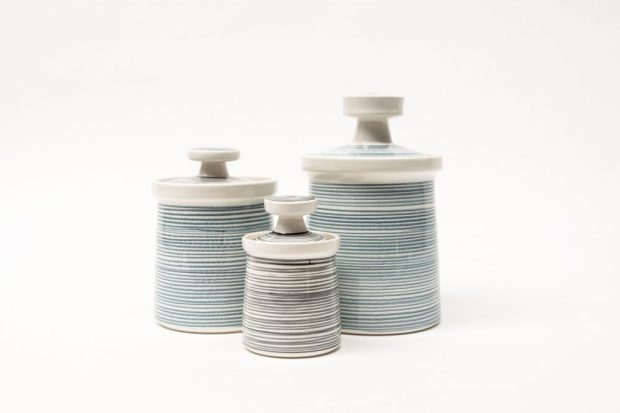 Poole Bokhara Canisters 659