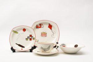 Midwinter Nurseryware 1950s Jessie Tait