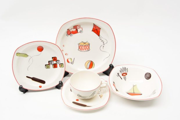 Midwinter Nurseryware 1950s Jessie Tait - Photo Ray Garrod