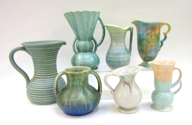 Beswick Art Deco Vases