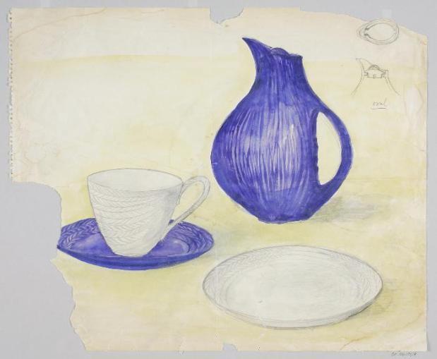 Blue Fire Sketch, Herth Bengtson