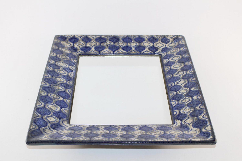 Michael Andersen Denmark, Persia Glaze Mirror Marianne Starck -