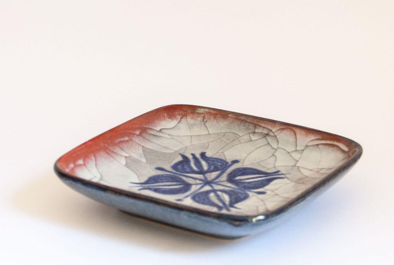 Michael Andersen Denmark, Persia Glaze Dish, Marianne Starck