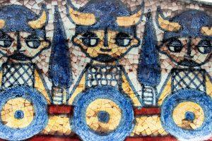 Michael Andersen Denmark, Persia Glaze Bowl, Marianne Starck