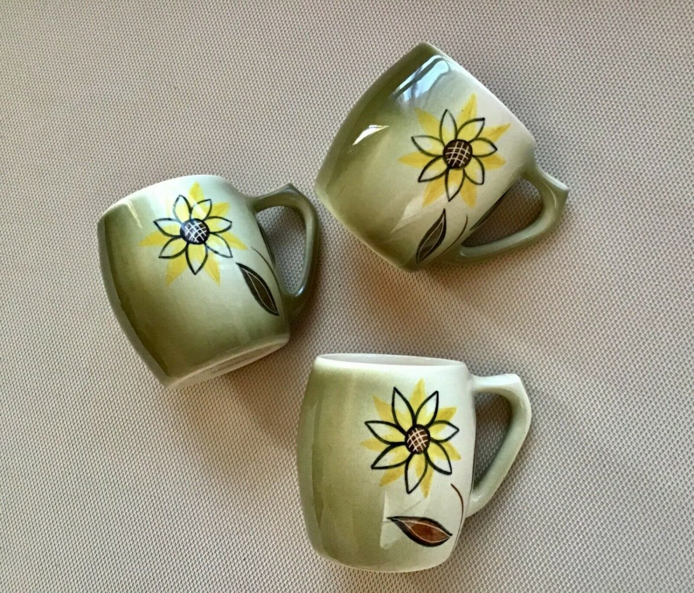 "Terra Ceramics Australia, 3 ""Terama"" Mugs"