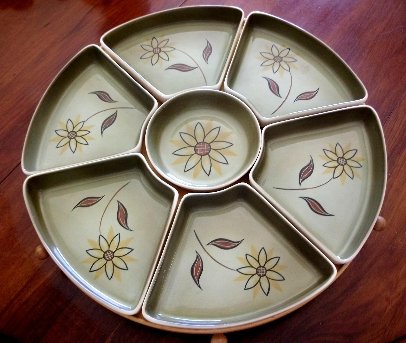 Terra Ceramics Terama Pattern Lazy Susan
