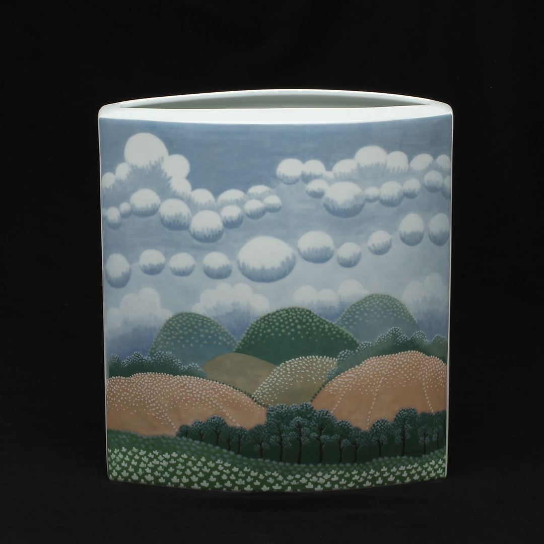 Rosenthal Studio Line Vase, Decor byI van Rabuzin.